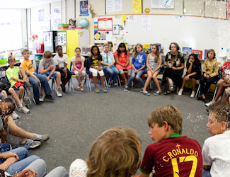 Oakland Unified students engaging in social-emotional learning