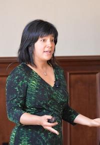 Joyce Dorado at the 2014 SIE.