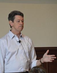 Rick Hanson presents at the 2014 GGSC SIE