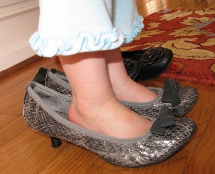 After 'shopping' in Grammie's shoe store [closet.]