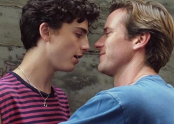 Timothée Chalamet and Armie Hammer in <em>Call Me by Your Name</em>.