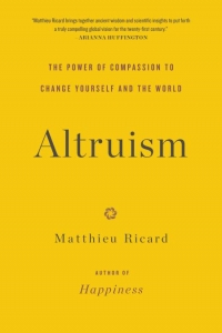 """This essay was adapted from Matthieu Ricard's new book, <a href=""""http://www.amazon.com/gp/product/0316208248/ref=as_li_tl?ie=UTF8&camp=1789&creative=390957&creativeASIN=0316208248&linkCode=as2&tag=gregooscicen-20&linkId=GEMFAPVHF7LQU54Z""""><em>Altruism: The Power of Compassion to Change Yourself and the World</em></a> (Little, Brown and Company, 2015)."""