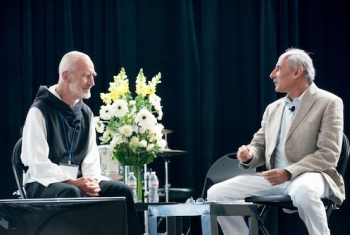Jack Kornfield and Brother David at the Greater Good Gratitude Summit