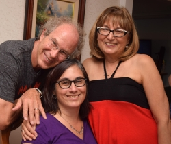A recent picture of Michelle with her parents.