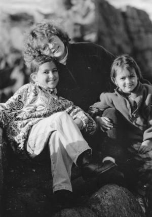 Alloparent Elnora with the author's children