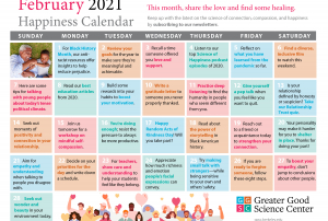 Your Happiness Calendar for February 2021