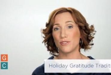 Holiday Gratitude Traditions