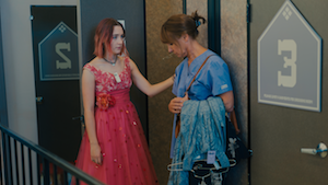 Saoirse Ronan and Laurie Metcalf in <em>Lady Bird.</em>