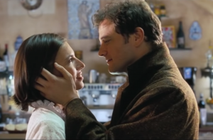 Jamie proposes to Aurelia in <em>Love Actually</em> (2003) despite the fact that they haven't really had a full conversation yet.