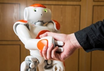 You Should Always Shake Hands with a Robot