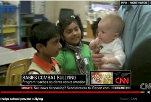 Roots of Empathy on CNN