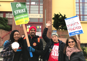 """In April and March of this year, Oakland teachers <a href=""""https://greatergood.berkeley.edu/article/item/oakland_teachers_strike_for_meaning_not_just_money"""">went on strike</a> for better working conditions."""