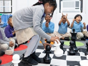 Students at a Zeta charter school in the Bronx, New York City.