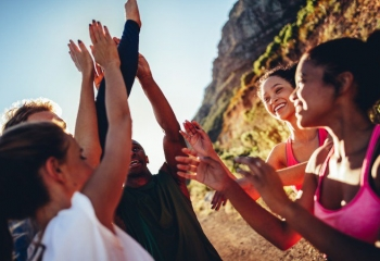 How to Overcome Stress by Seeing Other People's Joy