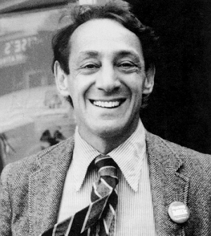 San Francisco politician Harvey Milk