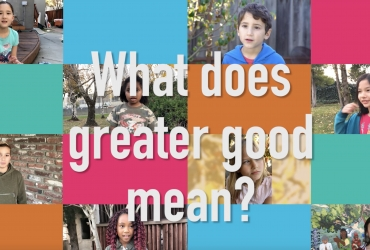 """What Does """"Greater Good"""" Mean?"""