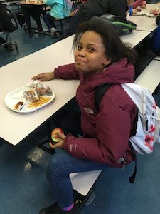 Mariah Mayweather, who is in fifth grade at P.S. 67, says she has noticed positive change at her school in the past year.
