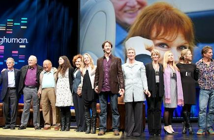 Some of the speakers who participated in Saturday's Being Human event.