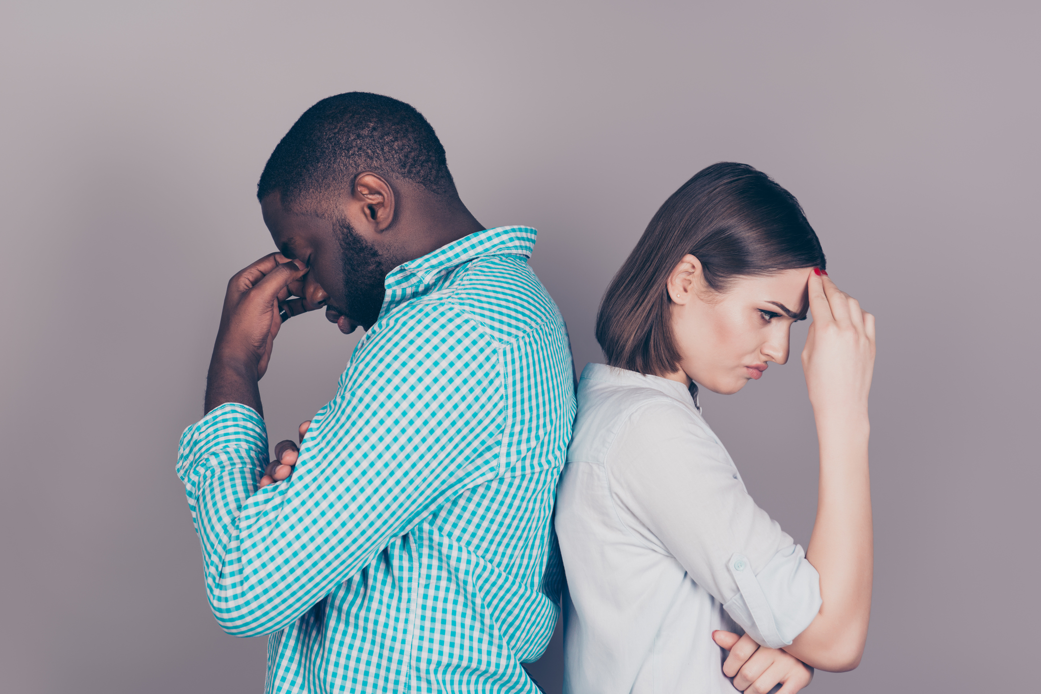 When a woman gives up on a relationship