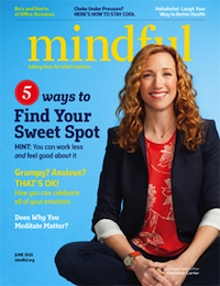 """This essay originally appeared on the <a href=""""http://www.mindful.org"""">website</a> of <em>Mindful</em> magazine, which this month features GGSC senior fellow and <em>Sweet Spot</em> author Christine Carter on the cover. <a href=""""http://www.mindful.org/mindful-magazine/june-2015-issue"""">Learn more!</a>"""