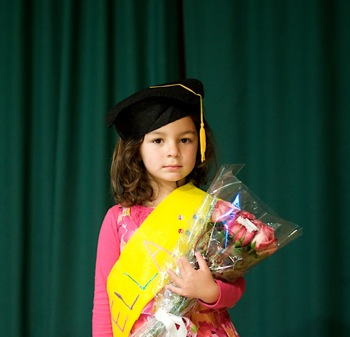 Ella's preschool graduation