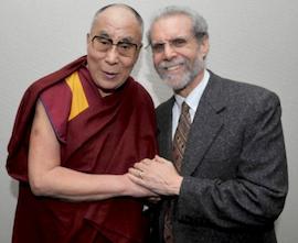 The Dalai Lama and Daniel Goleman