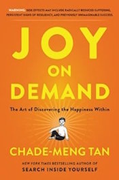 "Read <a href=""http://greatergood.berkeley.edu/article/item/how_to_bring_humor_to_meditation"">our review</a> of <em>Joy on Demand</em>."