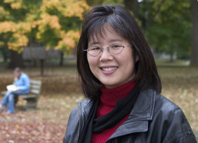 Human-Environment Research Laboratory co-director, Frances Kuo.