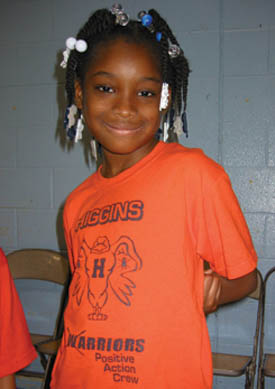 A student in Chicago participating in the Positive Action social and emotional learning program.