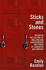 """Read the <a href=""""http://greatergood.berkeley.edu/article/item/too_many_bullies"""">full review</a> of <em>Sticks and Stones</em>."""