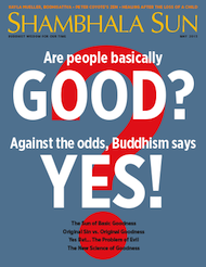 "This essay originally appeared (in slightly different form) in the <a href=""http://www.lionsroar.com/are-people-basically-good/"">May 2015 issue</a> of <em>Shambhala Sun</em>. <a href=""http://www.wheresmymagazine.com/#bipad=83588"">Find a copy</a> of the magazine near you, or <a href=""https://subscribe.pcspublink.com/sub/subscribeform.aspx?t=JLRSB2&p=SSUN"">subscribe now</a>."