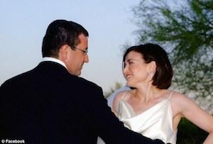 Sheryl Sandberg and her husband, Dave Goldberg.