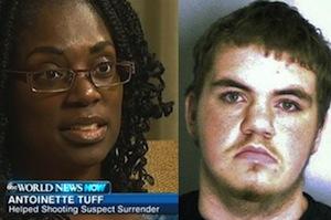 Antoinette Tuff and Michael Brandon Hill