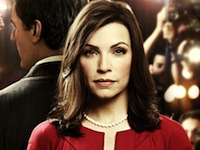 Alicia Florrick from the CBS television series <em>The Good Wife</em>, portrayed by Julianna Margulies.