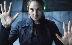 Tris in the film version of <em>Divergent</em>