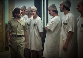 "A scene from the 2015 film, <a href=""https://www.youtube.com/watch?v=3XN2X72jrFk"">Stanford Prison Experiment</a>."
