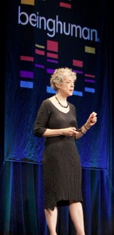 """Susan T. Fiske speaks at <a href=""""http://www.beinghuman.org/conference/being-human-2013"""">Being Human 2013</a>."""